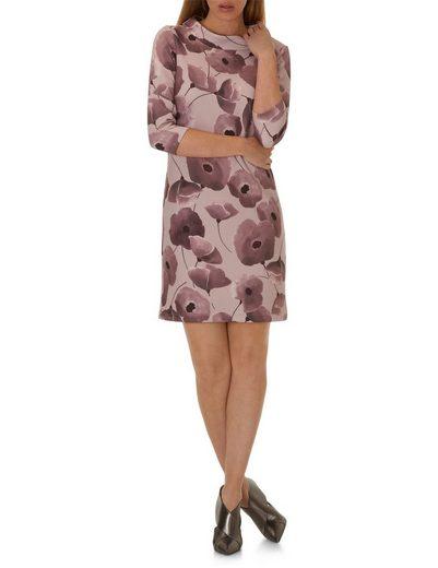 Cartoon Kleid mit Kelchkragen