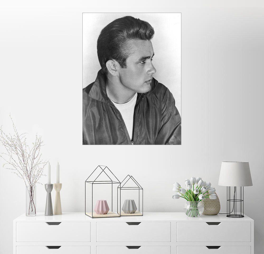 Posterlounge Wandbild »James Dean«