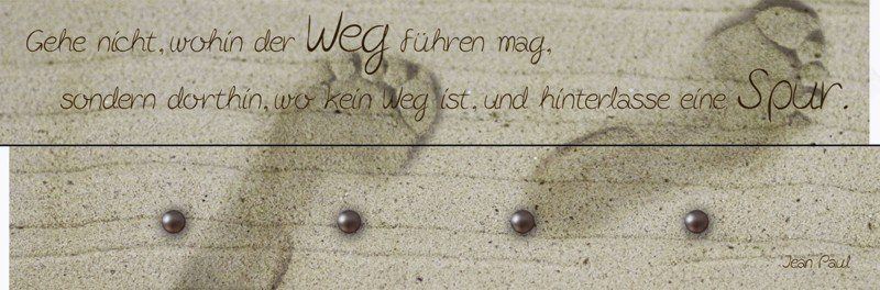 Artland Wandgarderobe »Jule: Der Weg«