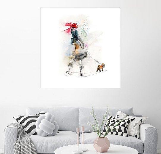 Posterlounge Wandbild »Elegant im Winter«