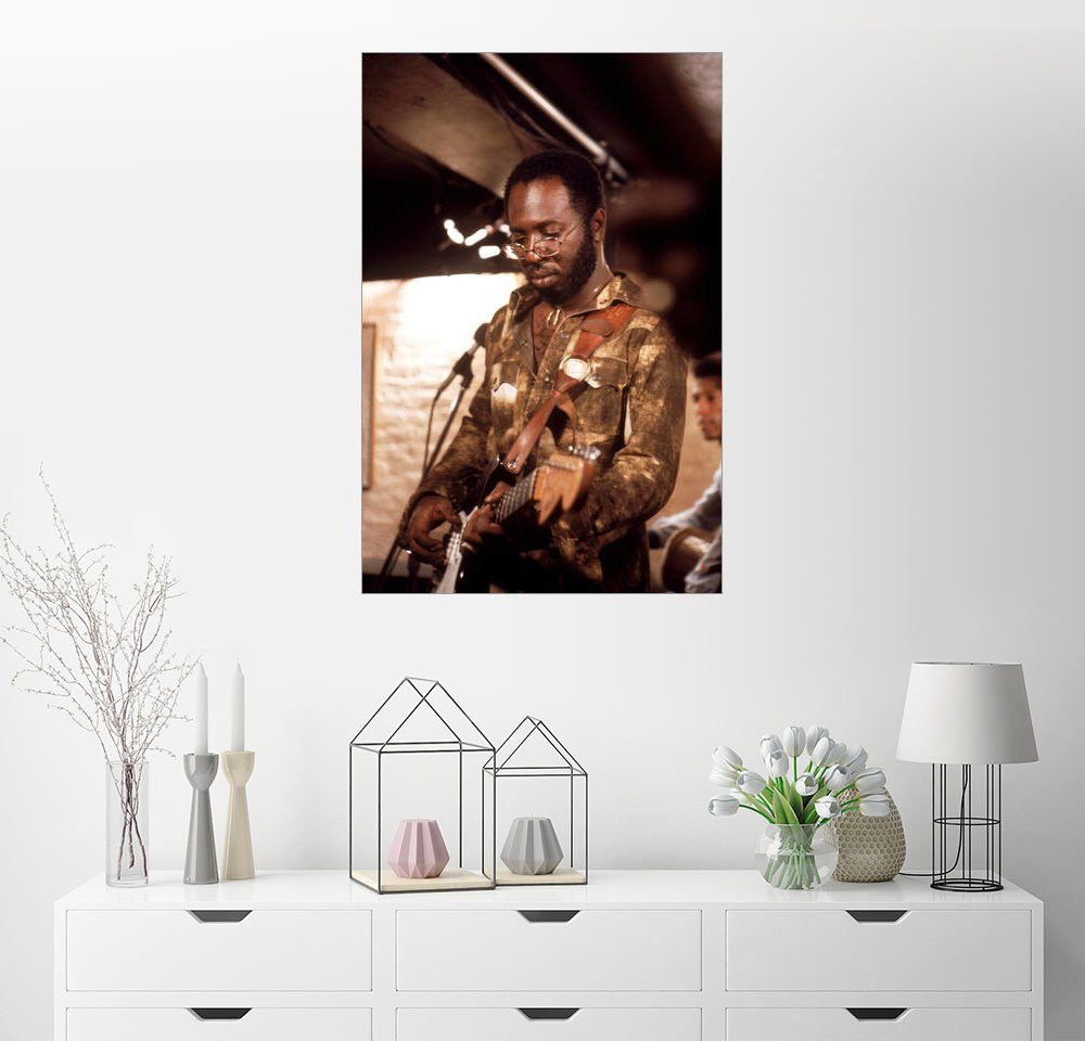 Posterlounge Wandbild »Curtis Mayfield«