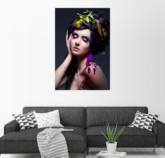 Posterlounge Wandbild »Purple Dreams«