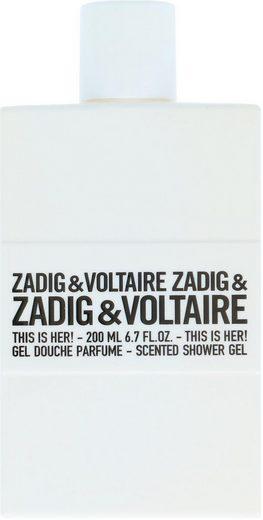 ZADIG & VOLTAIRE Duschgel »This Is Her«