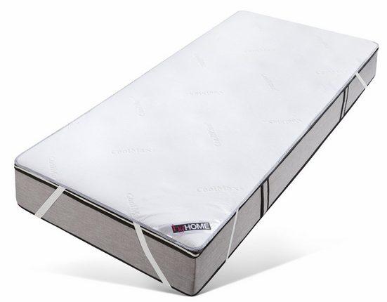Matratzenauflage »Coolmax« my home, bekannt aus der Sport- und Freizeitbekleidung, wasserdicht und kühlend, ideal für Schwitzer