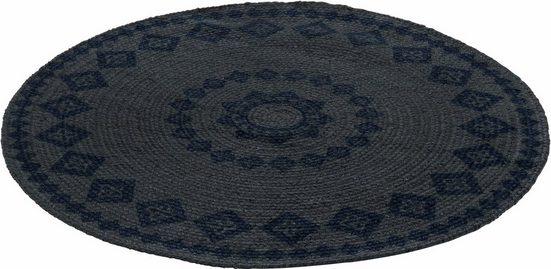 Teppich »Mamda«, LUXOR living, rund, Höhe 4 mm, maschinell geknüpft