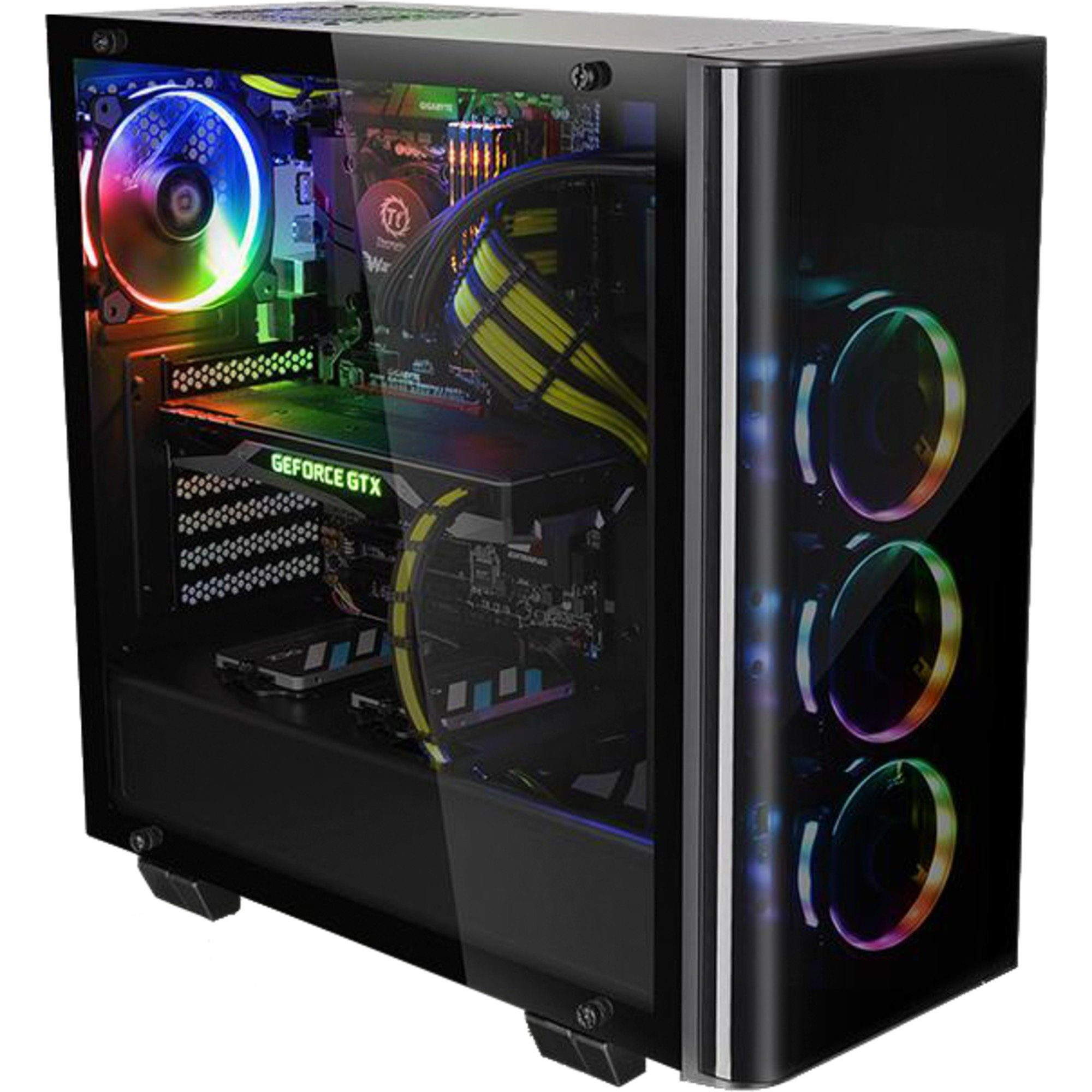 Thermaltake Tower-Gehäuse »View 21 Tempered Glass Edition, Window-Kit«