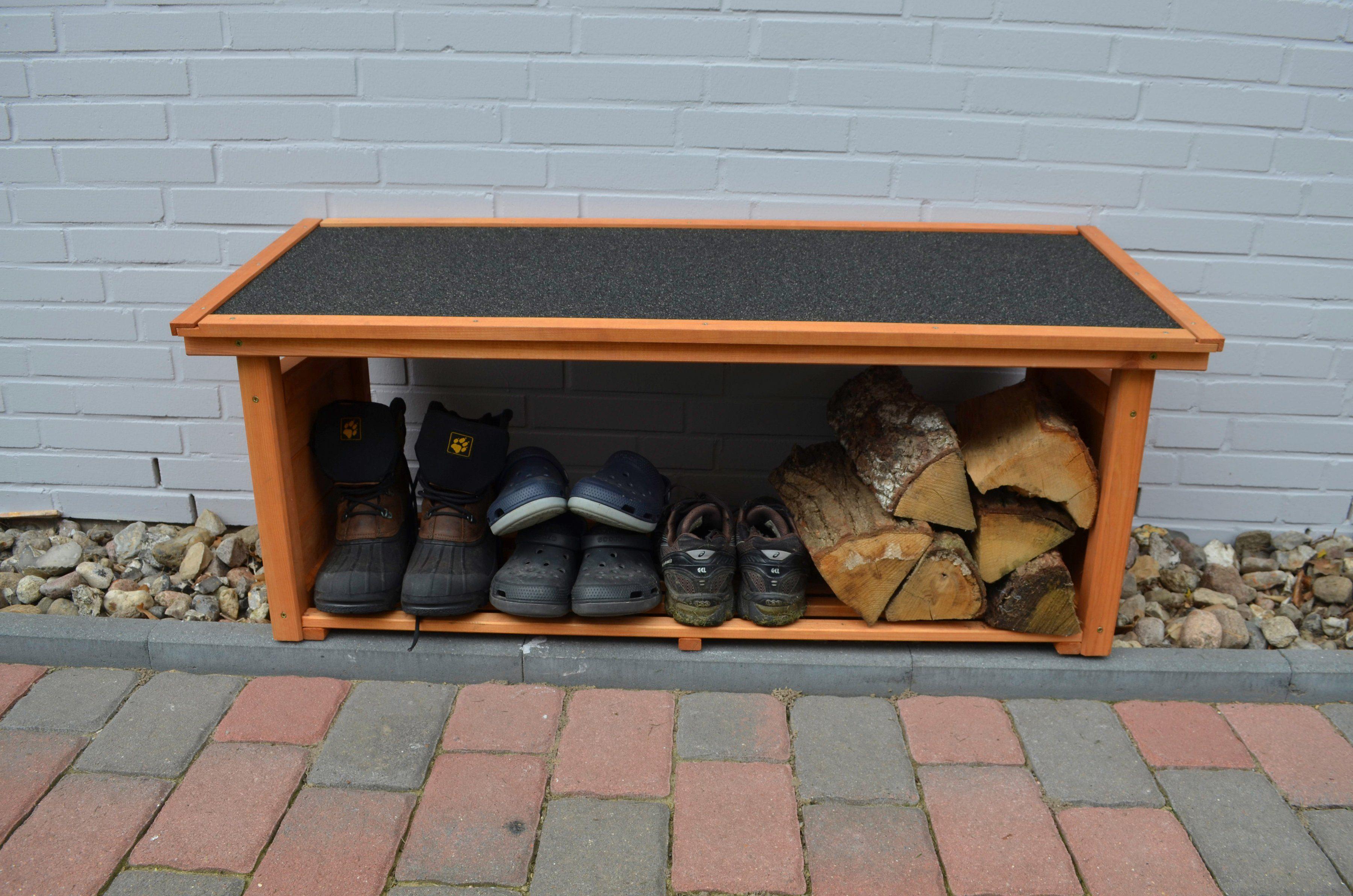 PROMADINO Schuhregal »shoeport«, BxTxH: 119x45x50 cm