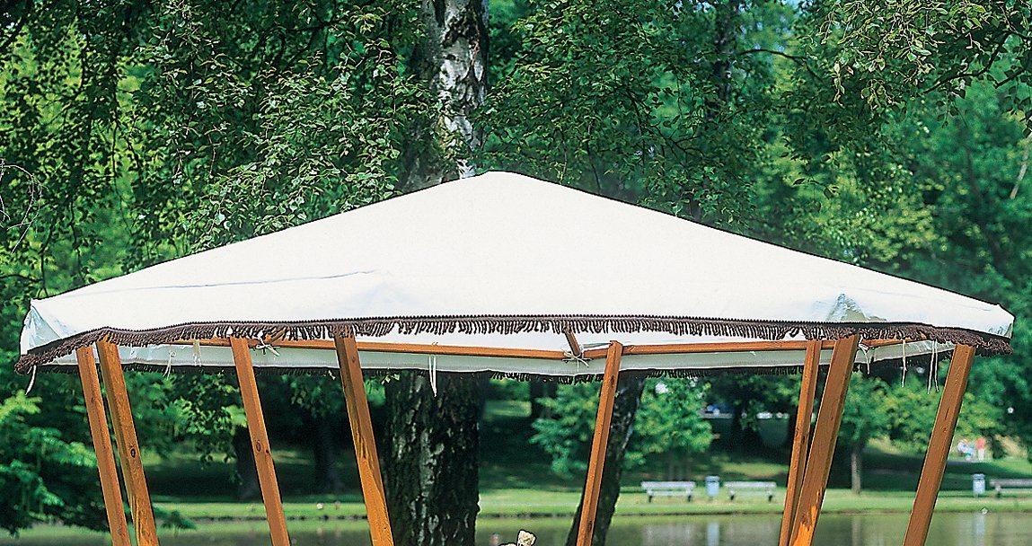 PROMADINO Ersatzdach für Pavillon »Rosenheim«, weiß   Garten > Pavillons   promadino