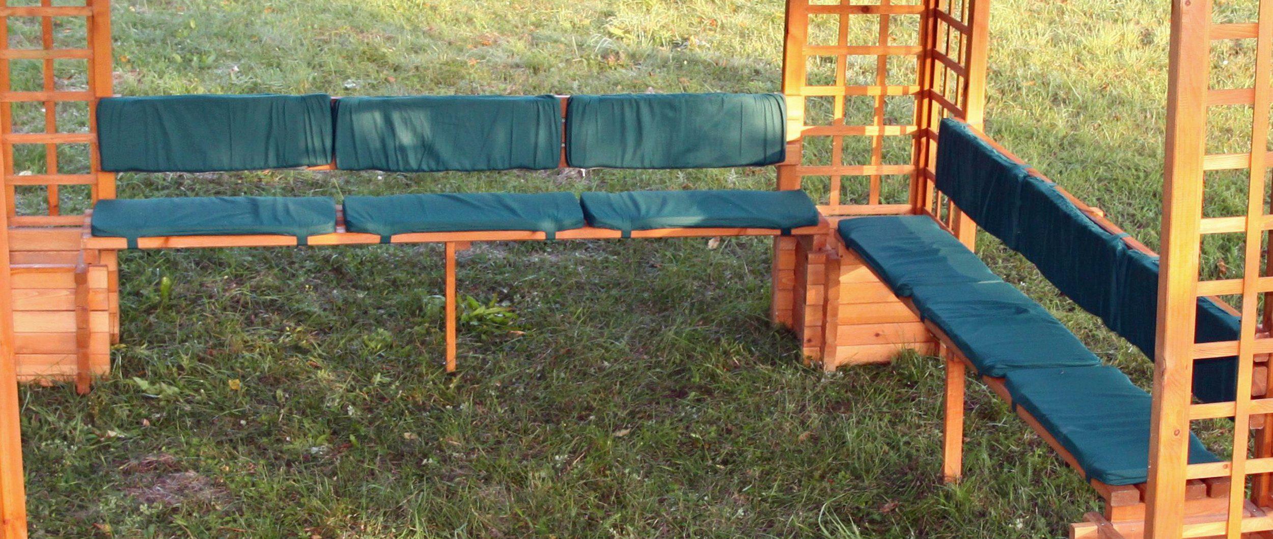 PROMADINO Auflage , für Pavillon »Mindelheim«, grün