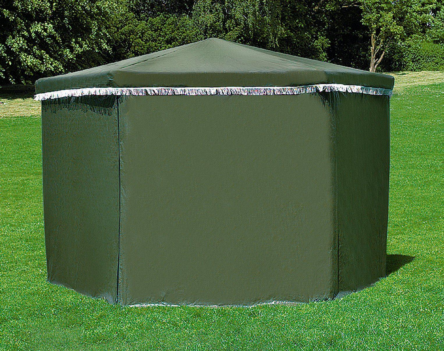PROMADINO Wetterschutz , für Pavillon »Marburg«, grün