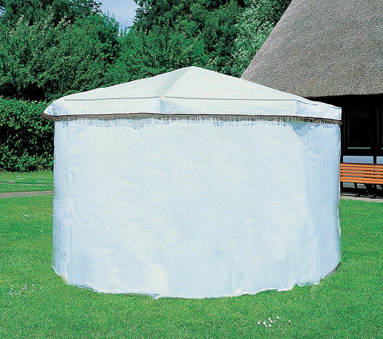 PROMADINO Wetterschutz , für Pavillon »Rosenheim«, weiß