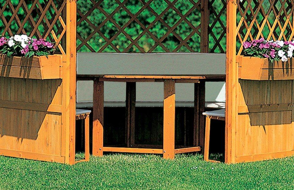 PROMADINO Auflage , für Pavillon »Marburg«, beige   Garten > Pavillons   Baumwolle   promadino