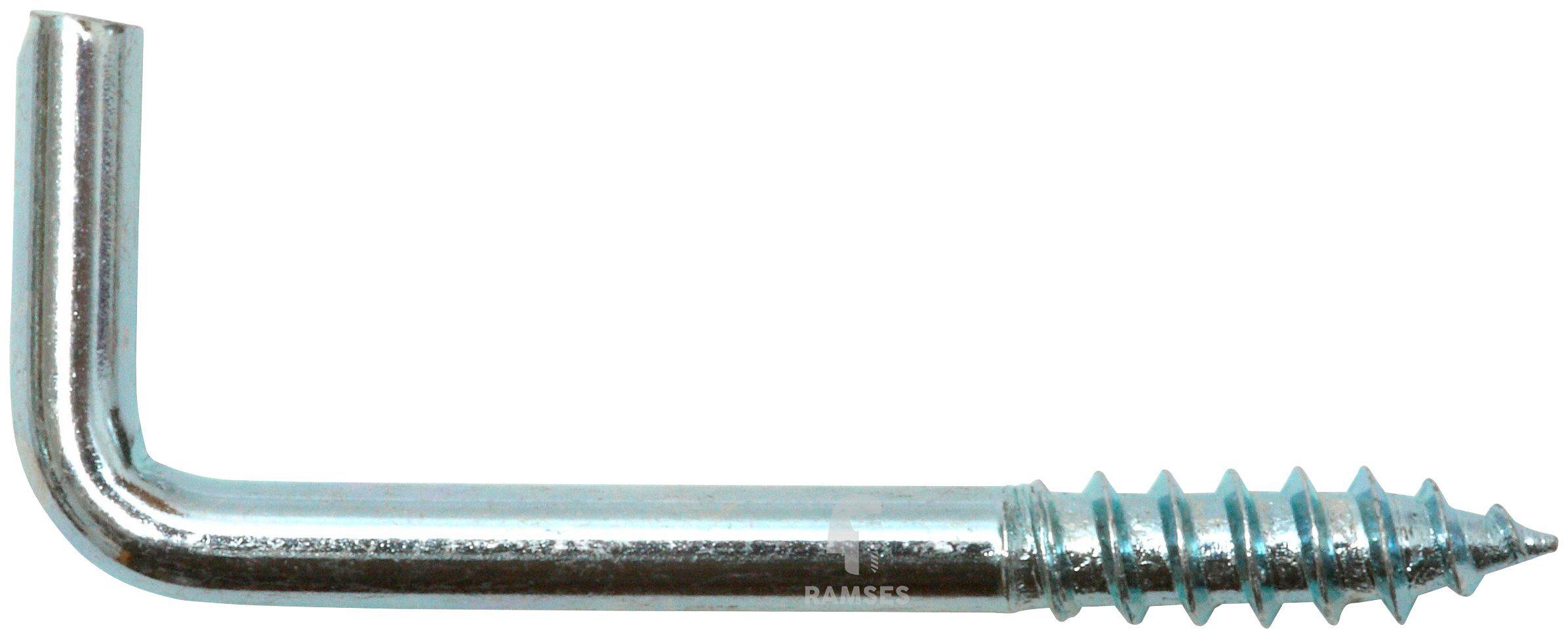RAMSES Schraubhaken , gerade 3,7 x 50 mm 100 Stück