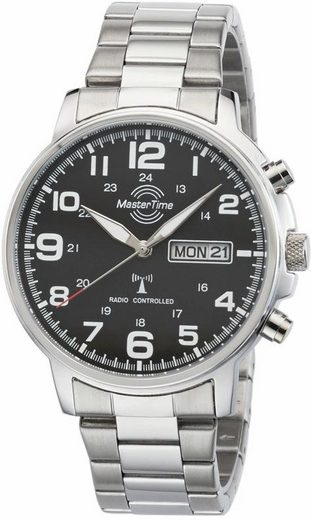 MASTER TIME Funkuhr »Specialist, MTGA-10623-22M«