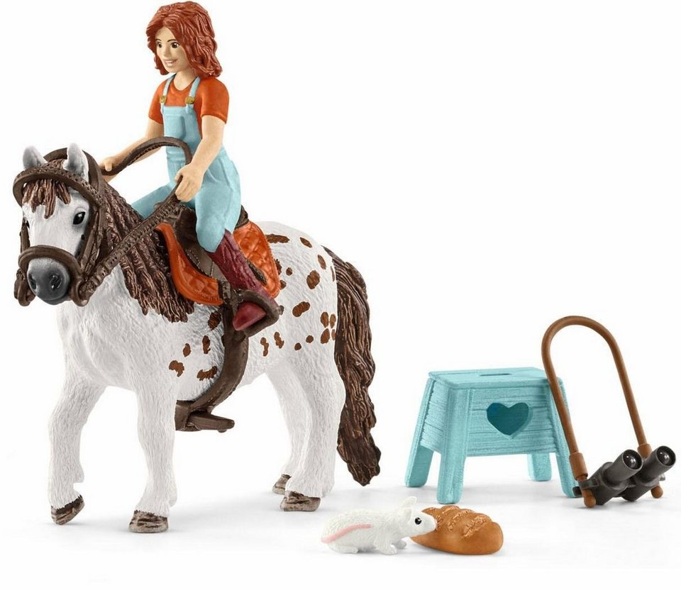 schleich spielset 42435 horse club mia spotty. Black Bedroom Furniture Sets. Home Design Ideas