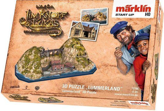 Märklin 3D-Puzzle »Märklin Start up - Jim Knopf© - Lummerland - 72786«, 80 Puzzleteile, passend für Spur H0