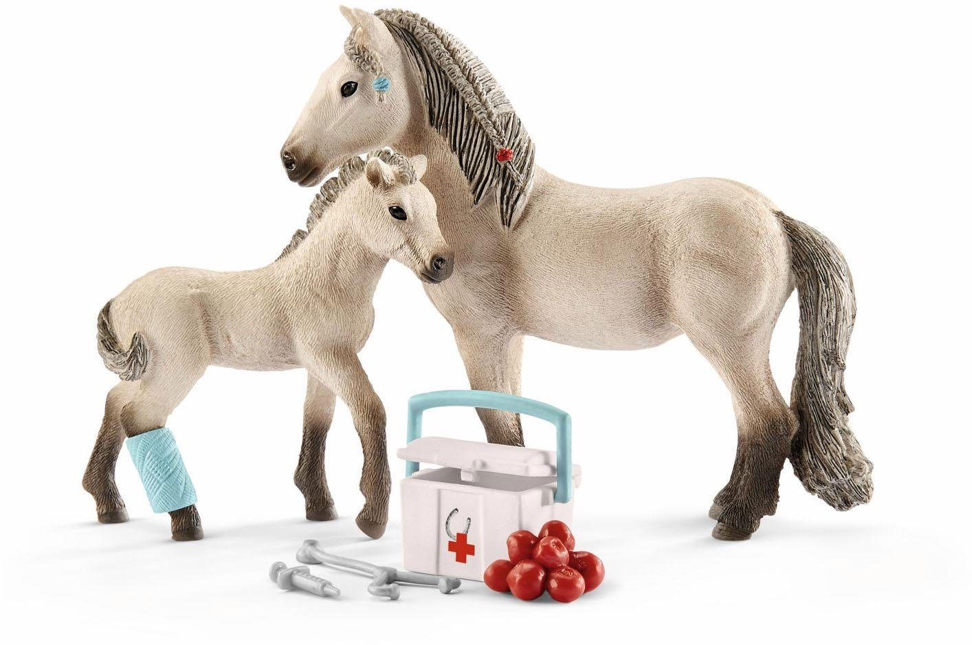 Schleich® Spielfigurenset (42430), »Horse Club, Hannahs Erste Hilfe Set«