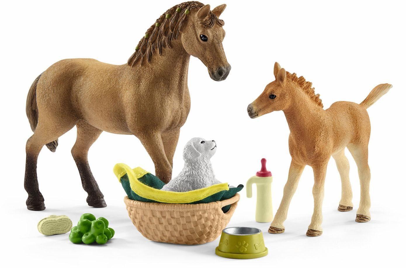 Schleich® Spielset (42432), »Horse Club, Sarahs Tierbaby-Pflege«