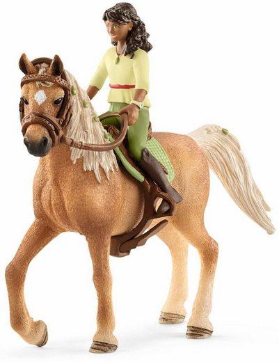 Schleich® Spielfigur »Horse Club, Sarah & Mystery (42414)«