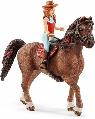 Schleich® Spielfigur »Horse Club, Hannah & Cayenne«