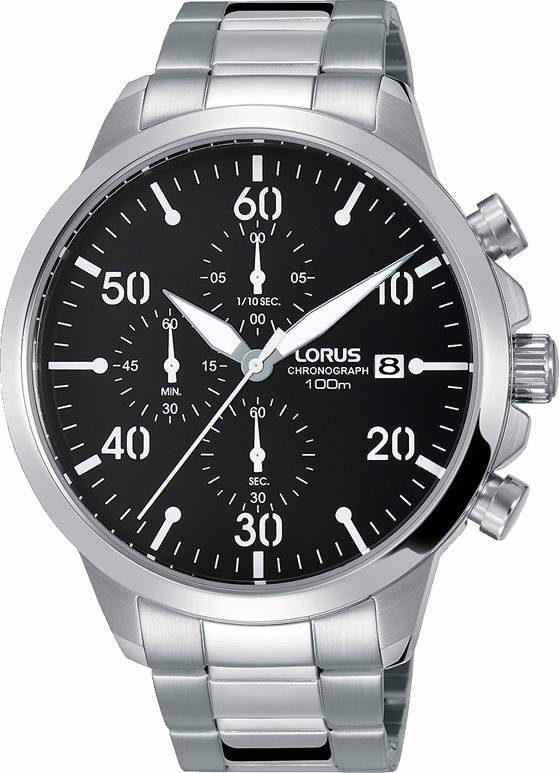 LORUS Chronograph »RM343EX9« mit kleiner Sekunde