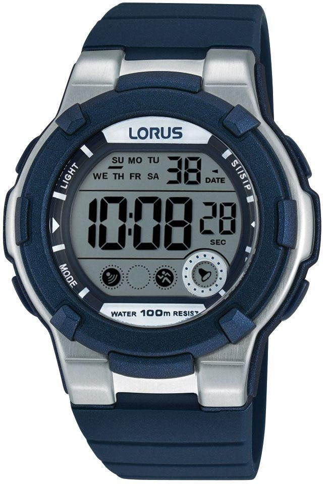 LORUS Chronograph »R2355KX9« mit Alarm