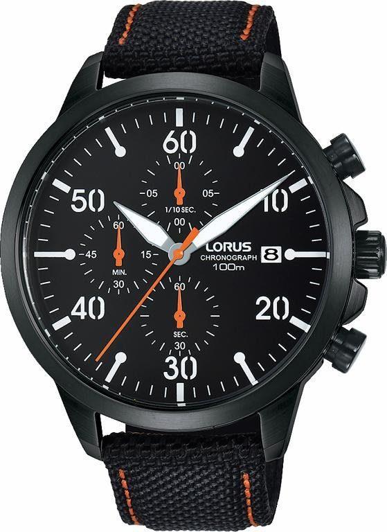 LORUS Chronograph »RM347EX9« mit kleiner Sekunde