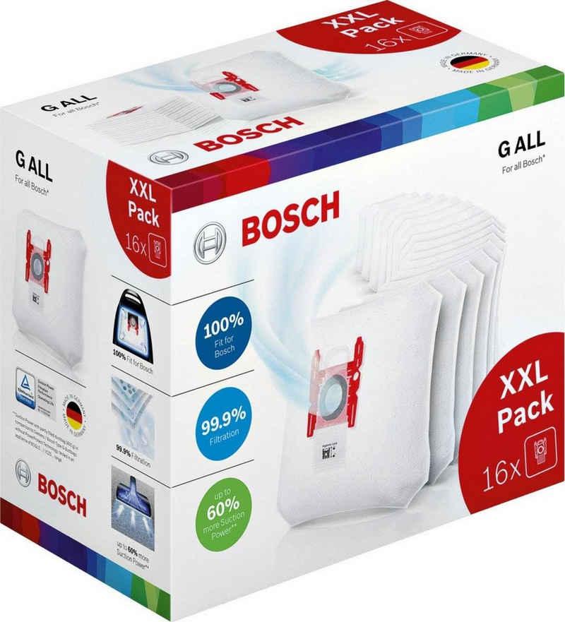 BOSCH Staubsaugerbeutel, passend für Bosch, 16 Stück, XXL Pack