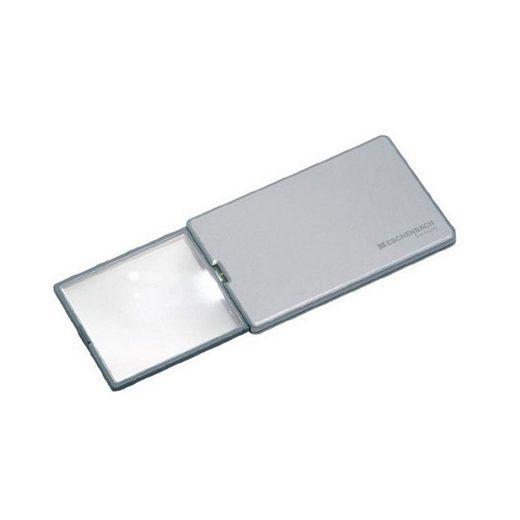 Eschenbach Optik ESCHENBACH Taschenleuchtlupe easyPocket silber 3x