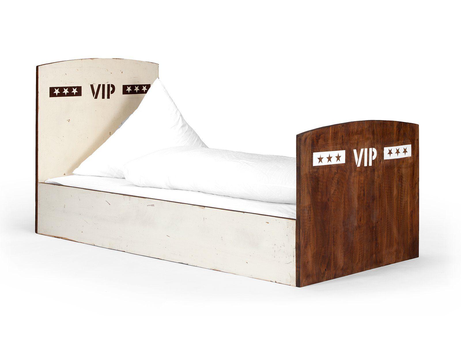 massivum Bett aus Mango massiv »Charley«