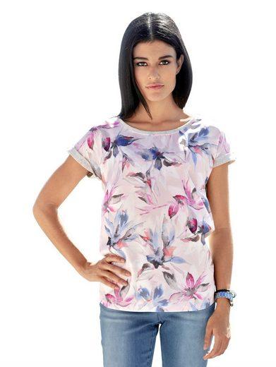 Alba Moda Chemise En Imprimé Floral