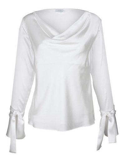 Alba Moda Bluse mit abnehmbaren Schleifenbändern