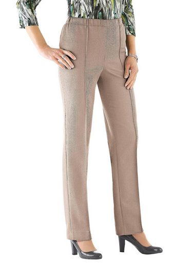 Atelier Golden Cut Slip Pants, Made From Durable Material