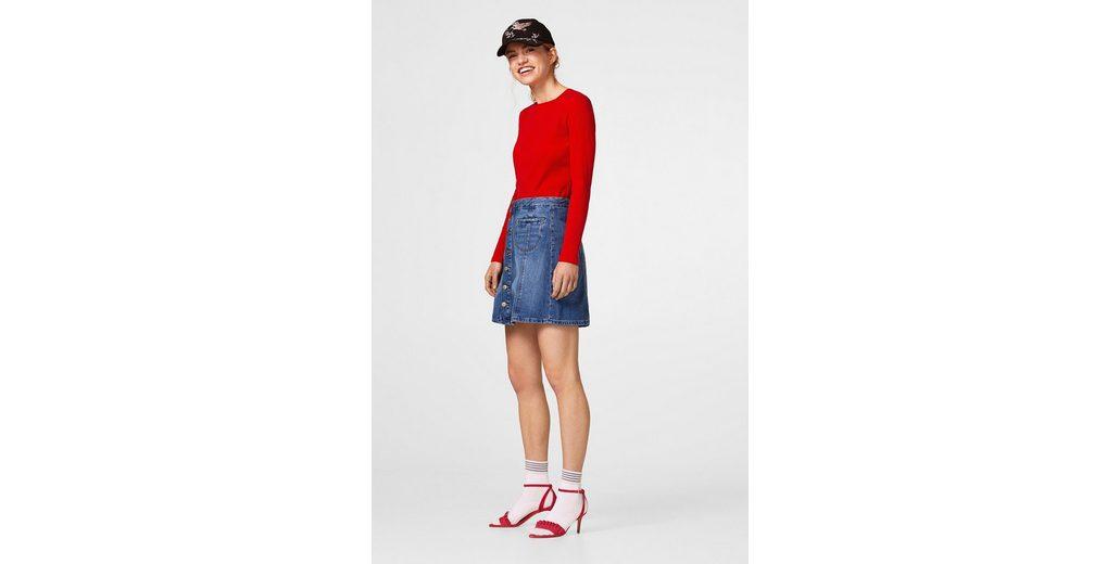 EDC BY ESPRIT Jeans-Rock mit Organic Cotton Neuester Rabatt Rabatt Footlocker Bilder Günstig Kaufen Für Billig 2018 Neuer Günstiger Preis loWvT