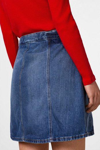 Edc By Esprit Jeans-rock Mit Organic Cotton