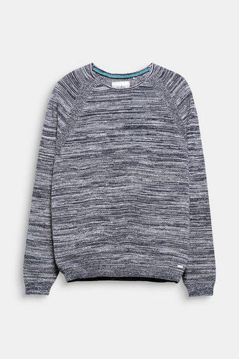 EDC BY ESPRIT Sweater aus Strukturstrick