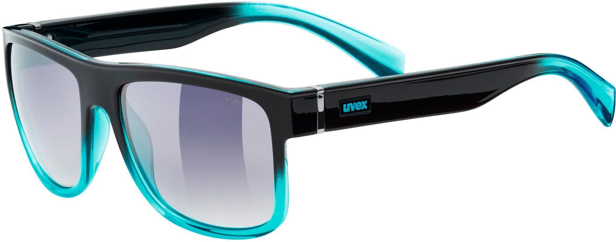 Uvex Sportbrille »lgl 21 Glasses«, schwarz, schwarz