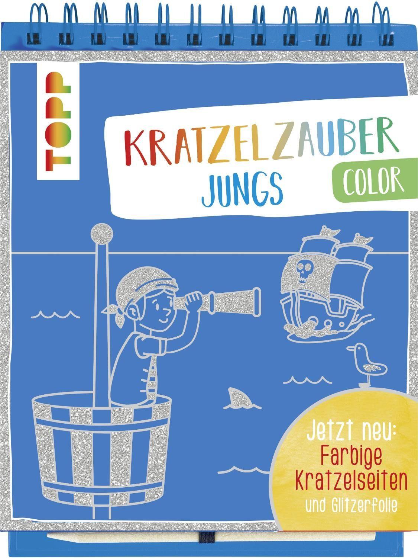 """Topp Buch """"Kratzelzauber Color Jungs"""""""