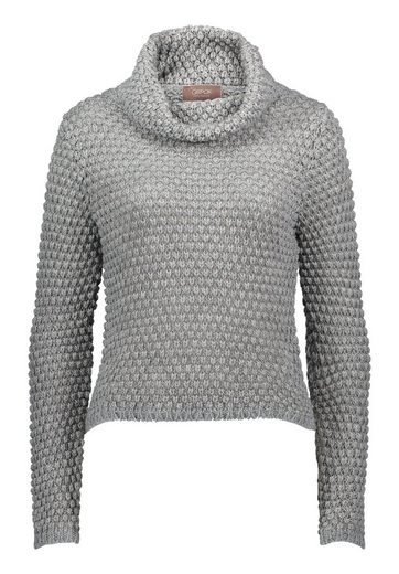 Cartoon Strickpullover mit Rollkragen