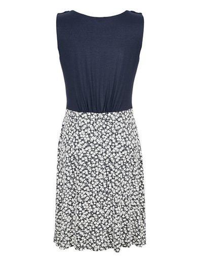 Alba Moda Jerseykleid mit kleinem Blumendruck