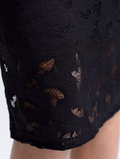 Alba Moda Spitzenkleid mit floralem Dessin