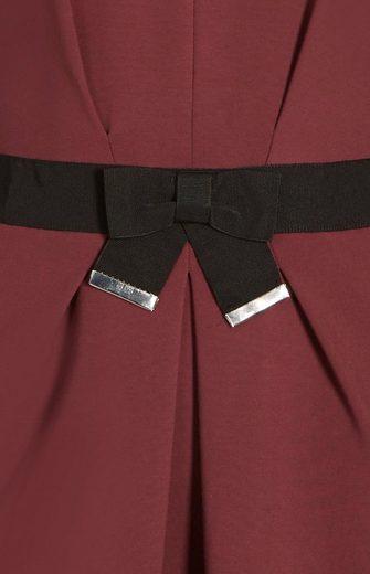 Apart Jerseykleid V-Ausschnitt