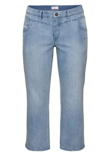 sheego Denim Bootcut-Jeans