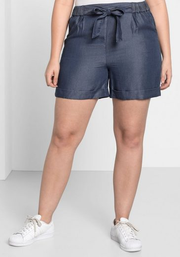 sheeGOTit Shorts, in Denim-Optik