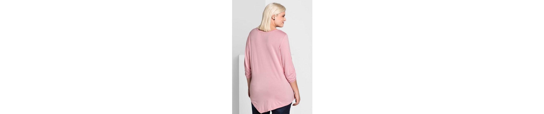 sheego Style 3/4-Arm-Shirt Auslassstellen Verkauf Online 2018 Online-Verkauf 0ikZLI