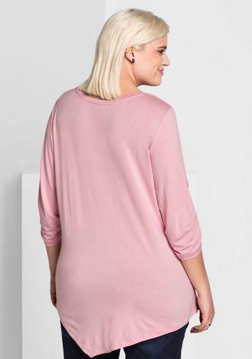 sheego Style 3/4-Arm-Shirt