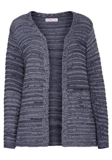 sheego Casual Strickjacke