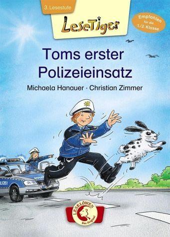 Gebundenes Buch »Lesetiger - Toms erster Polizeieinsatz«