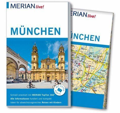 Broschiertes Buch »MERIAN live! Reiseführer München«