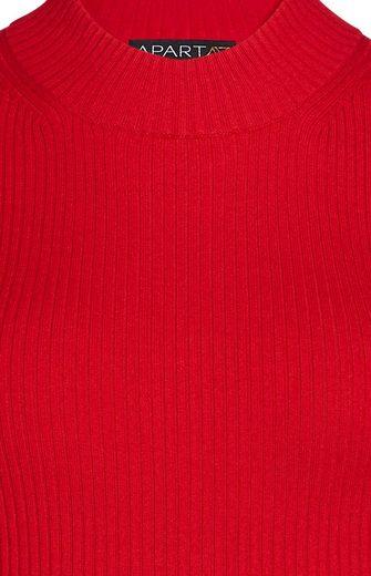 Apart Pullover aus Rippenstrick